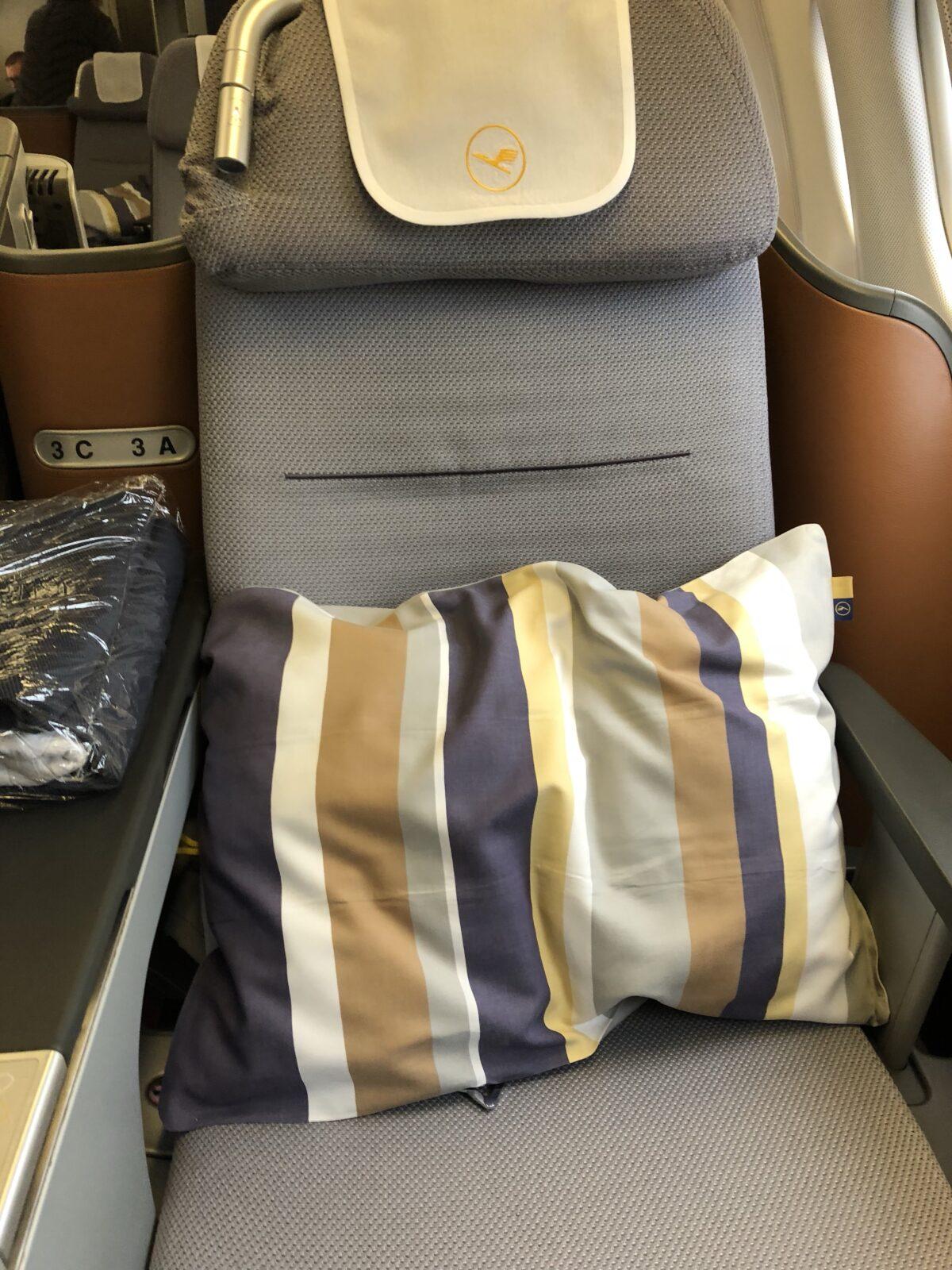 Sitze der Lufthansa Business Class