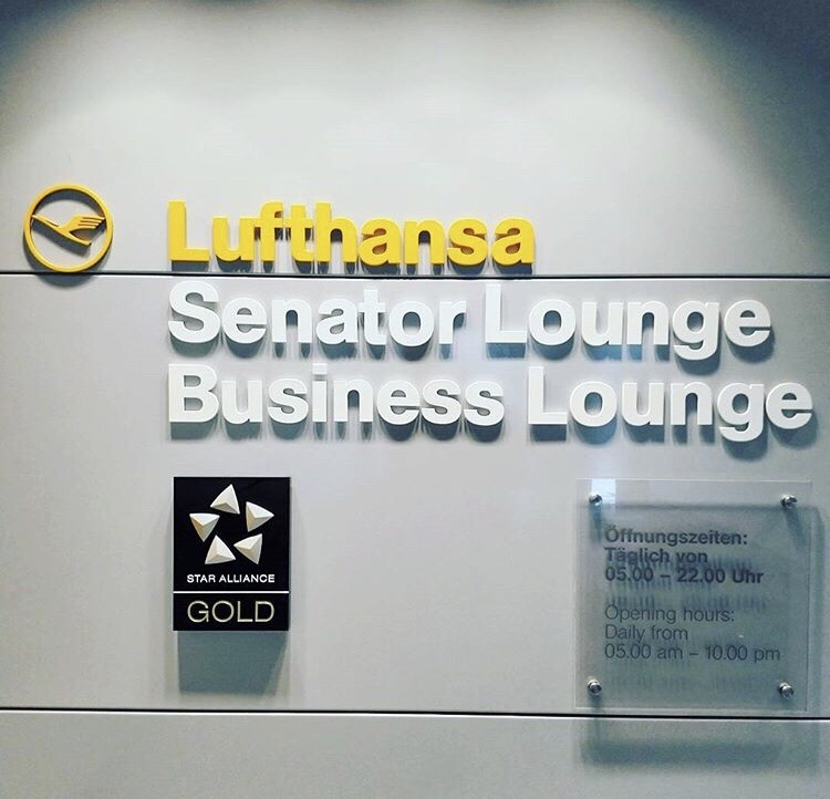 Lufthansa Business Class Lounge Zugang ohne Status und ohne Business Class Ticket