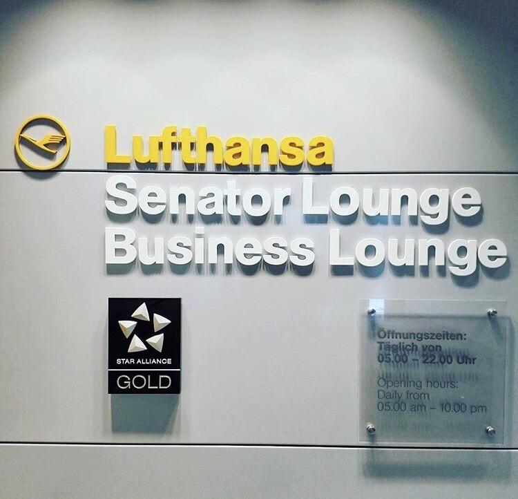 Lufthansa Business und Senator Lounge