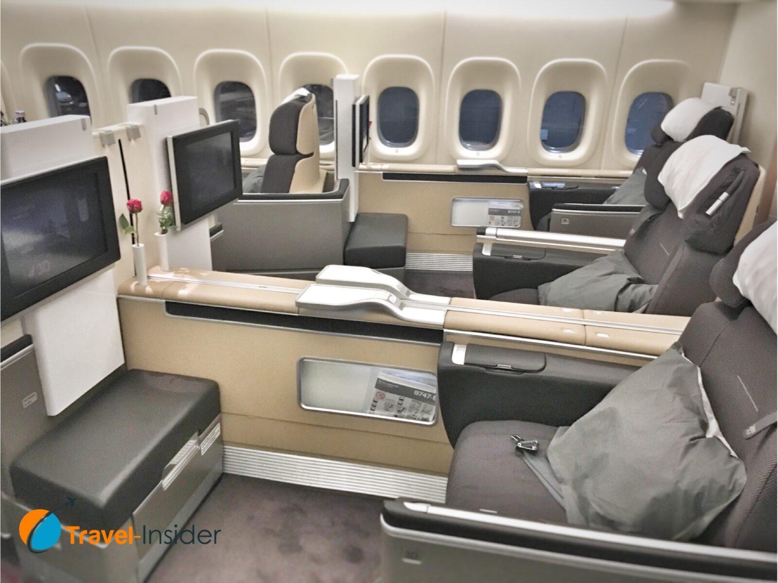 Lufthansa First Class Sitzplatz
