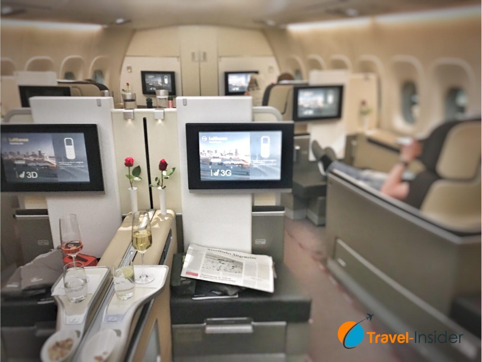 Lufthansa First Class Kabine