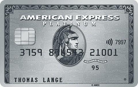 American Express Platinum Business Kreditkarte