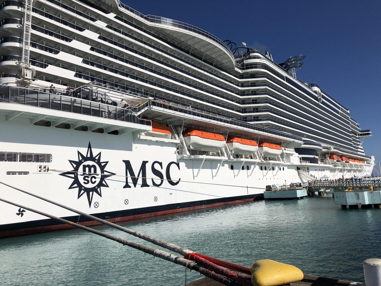 Karibik-Kreuzfahrt mit der MSC Seaside