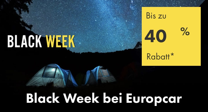 Europcar Black Days Sale