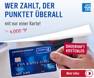 Kostenlose Amex Payback Kreditkarte + hoher Willkommensbonus *vorbei*