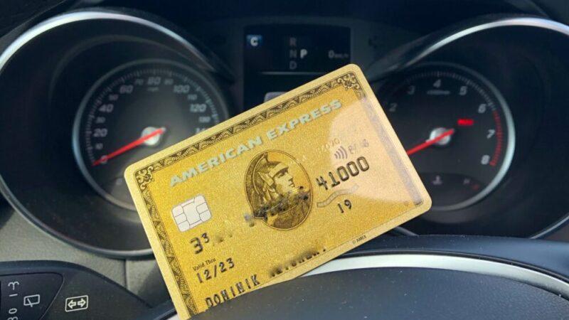 Amex Gold Kreditkarte mit 40.000 Punkten Rekordbonus