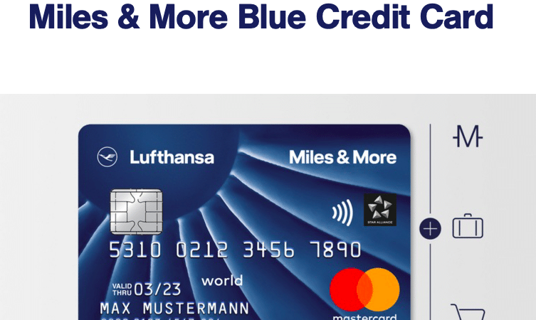 7x mehr Meilen Willkommensbonus mit der Miles & More Blue Kreditkarte