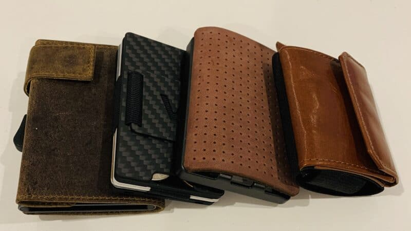 Slim Wallets als ideale Reise-Geldbeutel