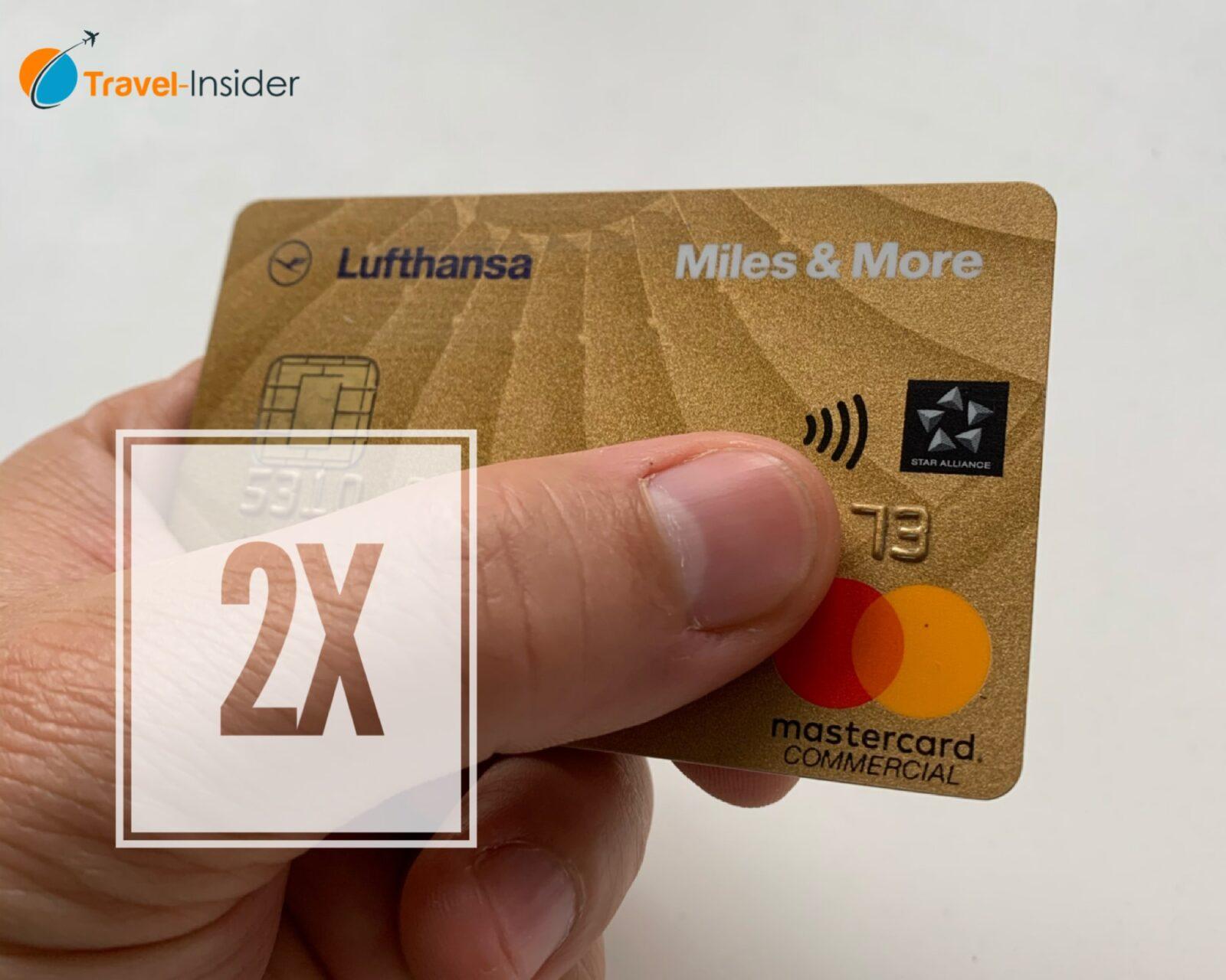 Aktion: Doppelte Prämienmeilen mit der Miles & More Kreditkarte im Oktober 2020