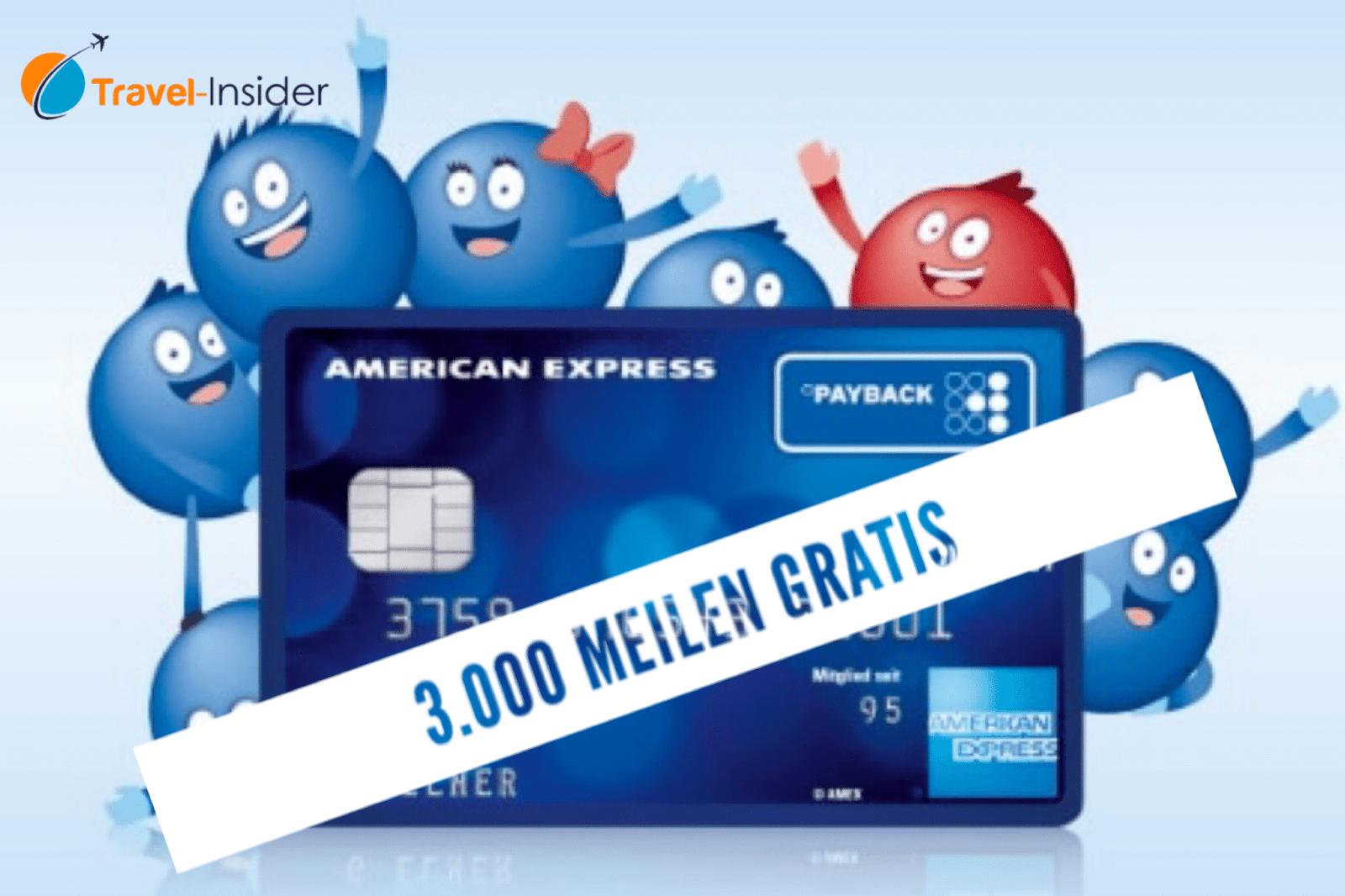 3.000 Miles & More gratis als Willkommensbonus mit der Payback Kreditkarte