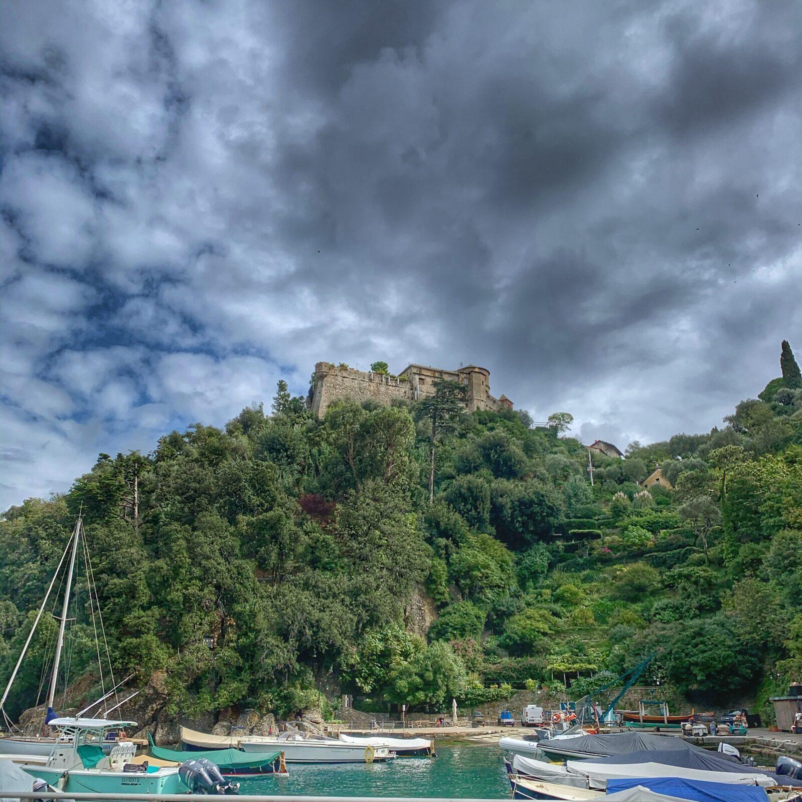 Castello über Portofino