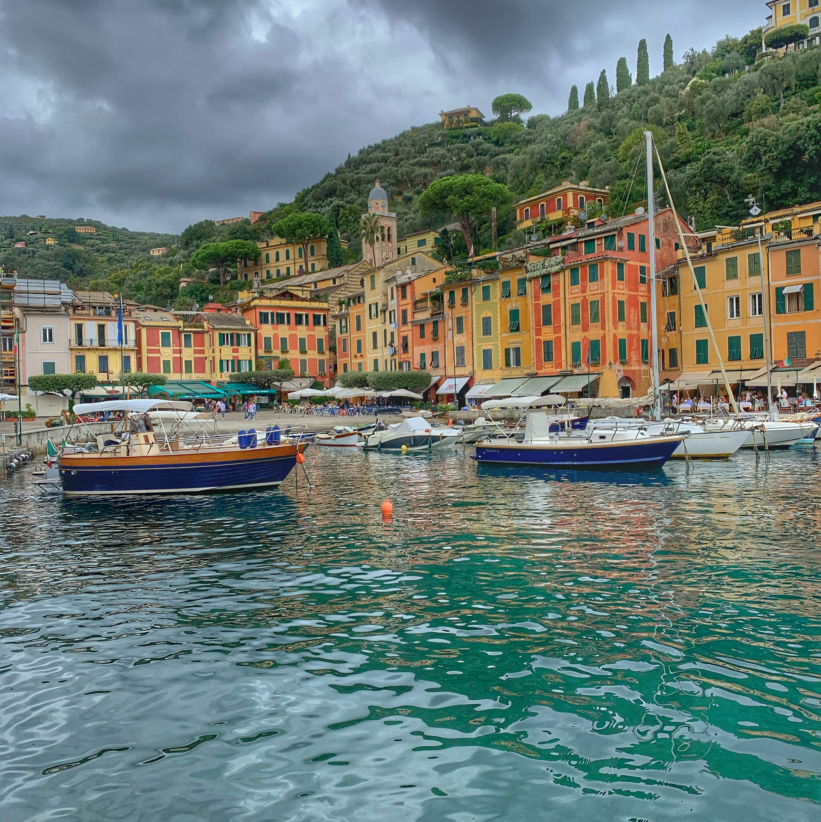 Farbenprächtige Häuser in Portofino