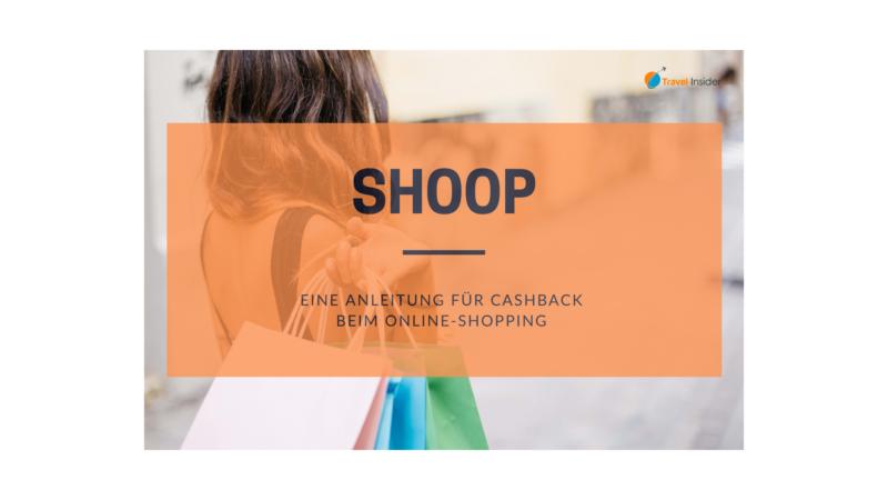 Cashback mit shoop