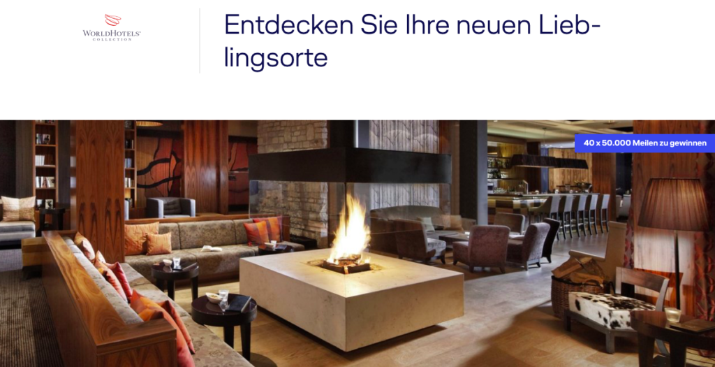 WorldHotels Collection Gewinnspiel