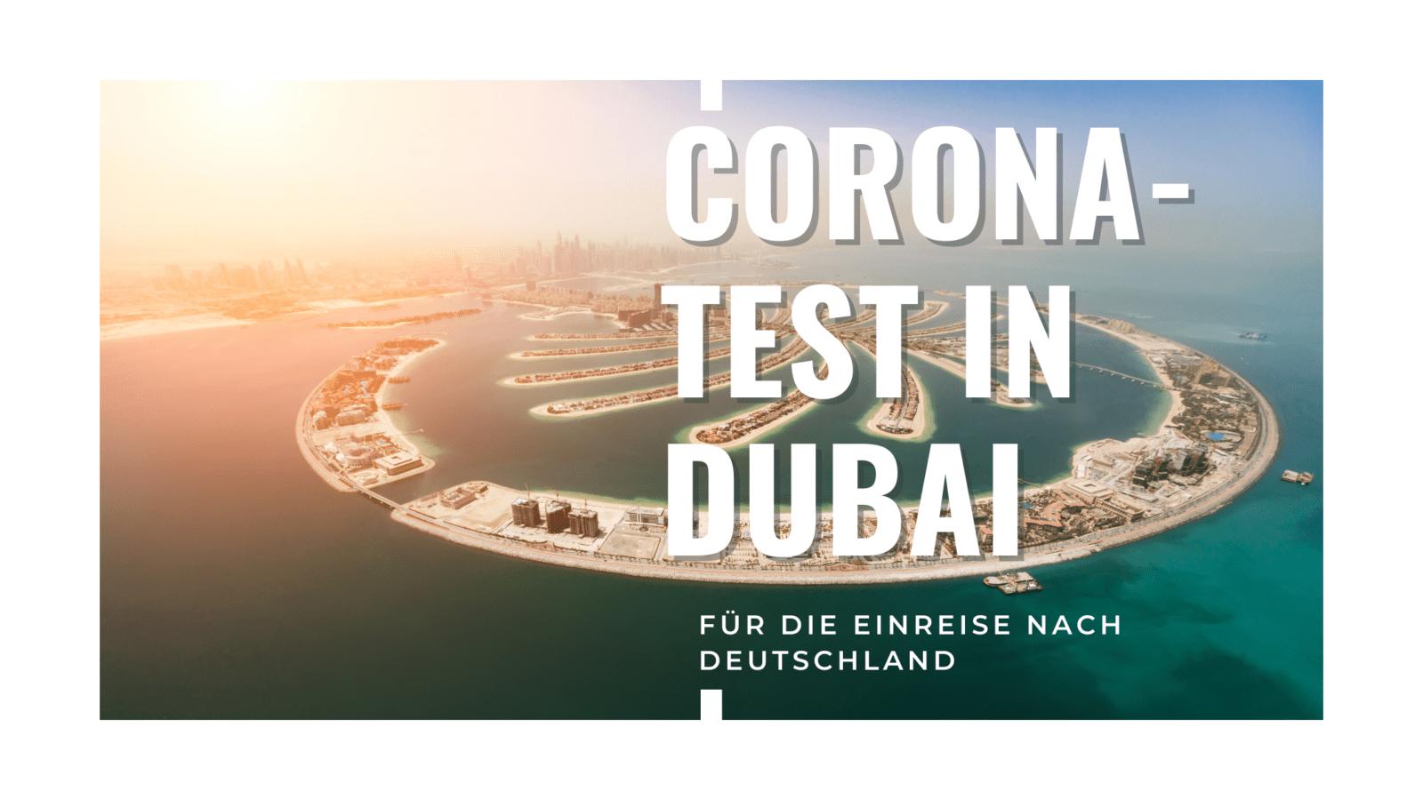 Corona-Test in Dubai
