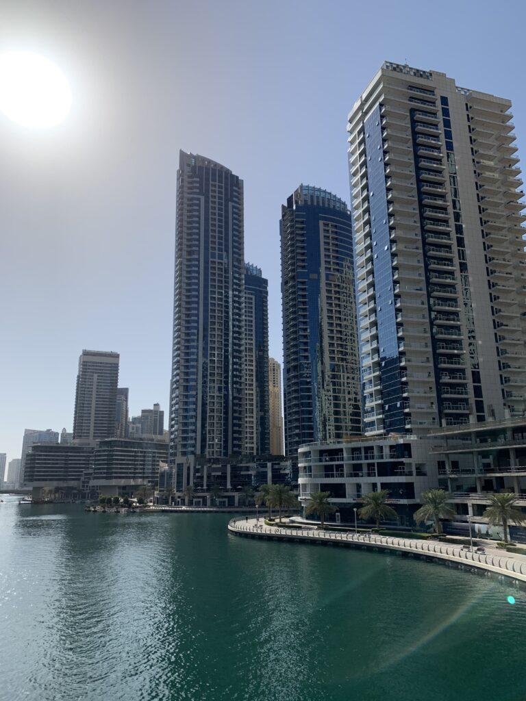 Intercontinental Dubai Marina Außenansicht