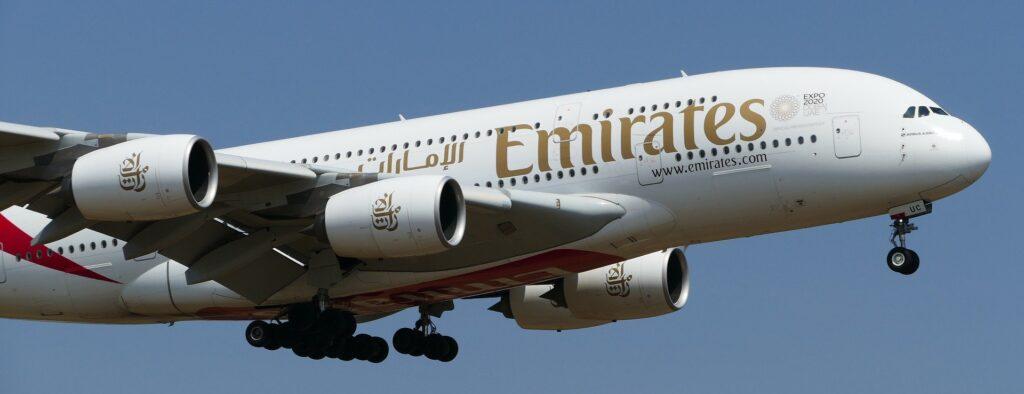 Emirates Flüge mit Amex Rewards Punkten buchen