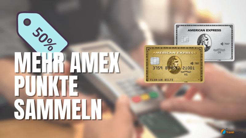 Mehr Punkte mit dem Amex Membership Rewards Turbo