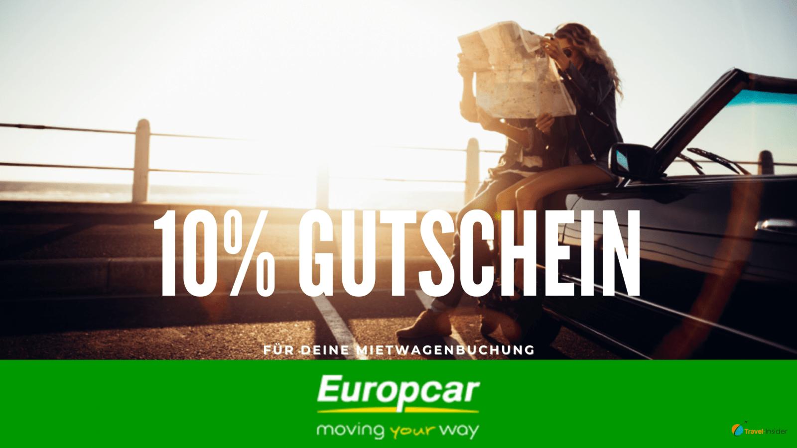 10% Europcar Gutschein im Juni