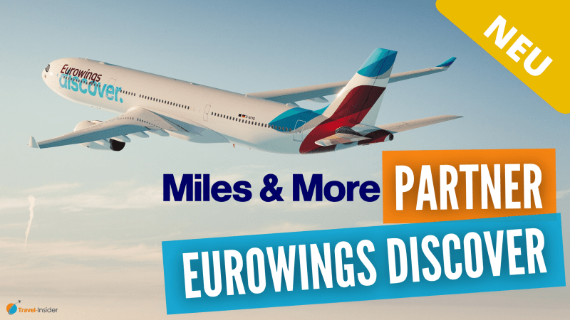 Neue Airline Eurowings Discover wird Miles & More Partner